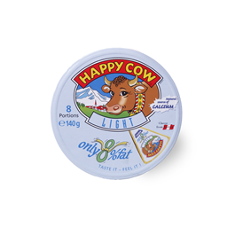 Sir topljeni Happy Cow low fat 8x17