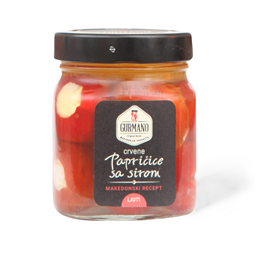 Paprika sa sirom Crvena Gurmano  290g
