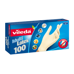 Rukavice latex Vileda 100/1