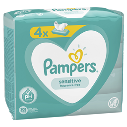 Vlazne maramice Sensitive 4x52 Pampers