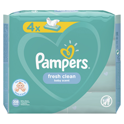Vlazne maramice Fresh 4x52 Pampers