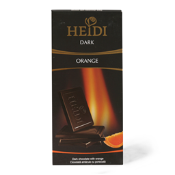 Cokolada crna Orange Heidi 80g