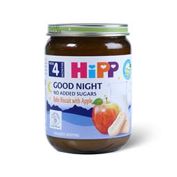 Kasica Hipp za l.noc-Decji keks jab 190g