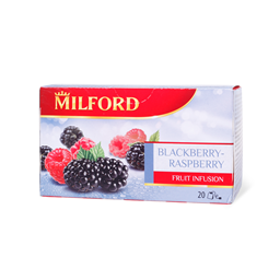 Caj kupina&malina Milford 20x2.5g