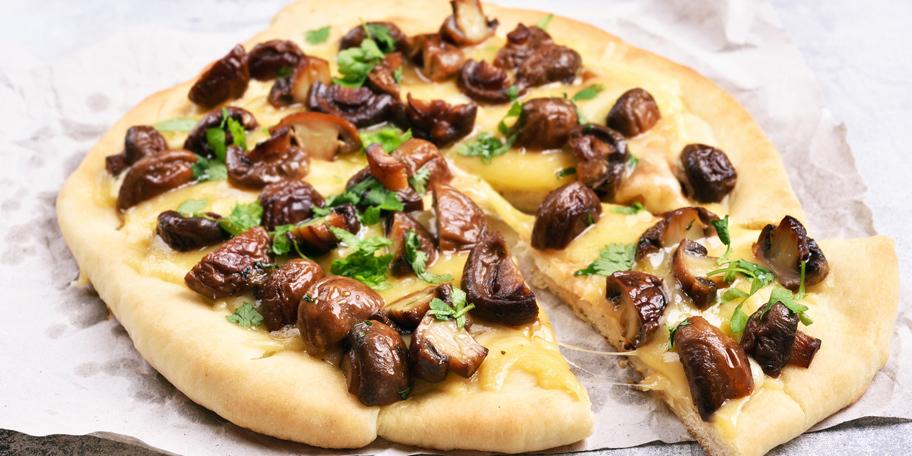 Pica sa pečurkama i sirom