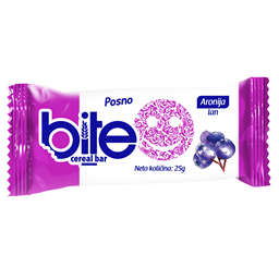 Bite Cereal bar aronija 25g