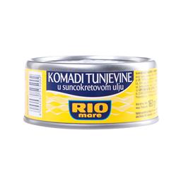Tunj u suncokretovom ulju Rio Mare 160g