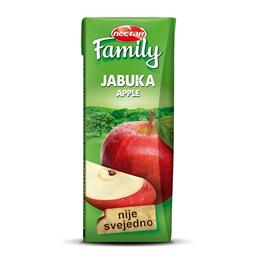 Sok jabuka Family nektar 0,2L