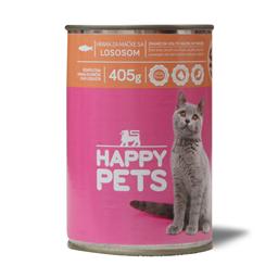 Hrana za macke/losos Happy pets 405g