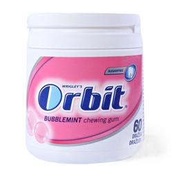Zvake Orbit Bubblemint 60p bottle 84g