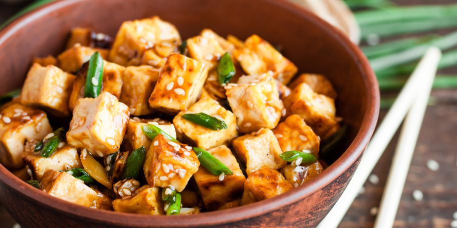 Pečeni tofu sa susamom