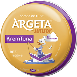 Pasteta tuna krem Junior Argeta 95 gr