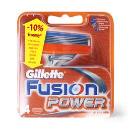 Patrone zileta Fusion Gillette 4crt