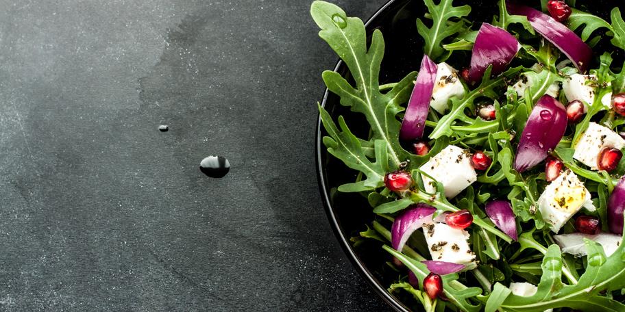 Salata sa rukolom i feta sirom