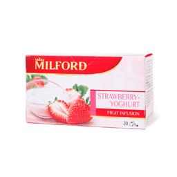 Caj jagoda jogurt Milford 20x2.5gr