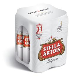 Pivo Stella  Artois limenka 0.5l 3+1grat