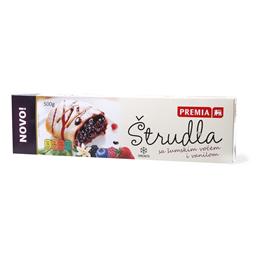 Strudla vanila,sumsko voce Premia 500g