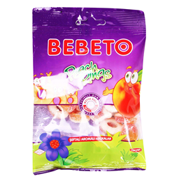 Bombone gumena Peash Rings Bebeto 80g