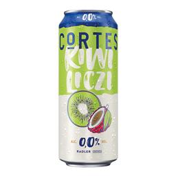 Cortes kivi lici 0% can 0,5l