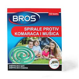 Spirale protiv komaraca Bros 10 kom.