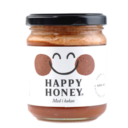 Med i organski kakao Happy Honey 250 gr