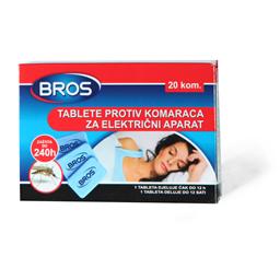 Tablete protiv komaraca Bros za el.apar.