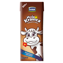 Moja kravica cok.mleko 1%mm 200ml