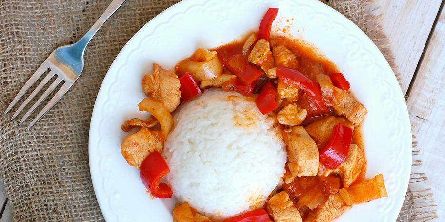 Piletina sa paprikom i indijskim začinom
