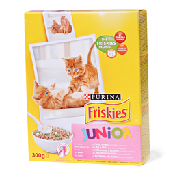 Hrana za macke Friskies Junior 300g