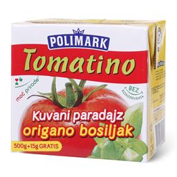 Tomatino sa origanom i bosiljkom 500ml