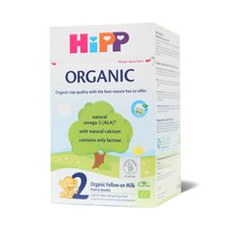 Hipp2 Organic prelaz.mleko za odojc.800g
