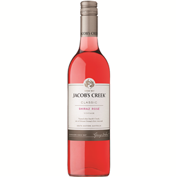 Vino Jacob's Creek Shiraz Rose 0.75L
