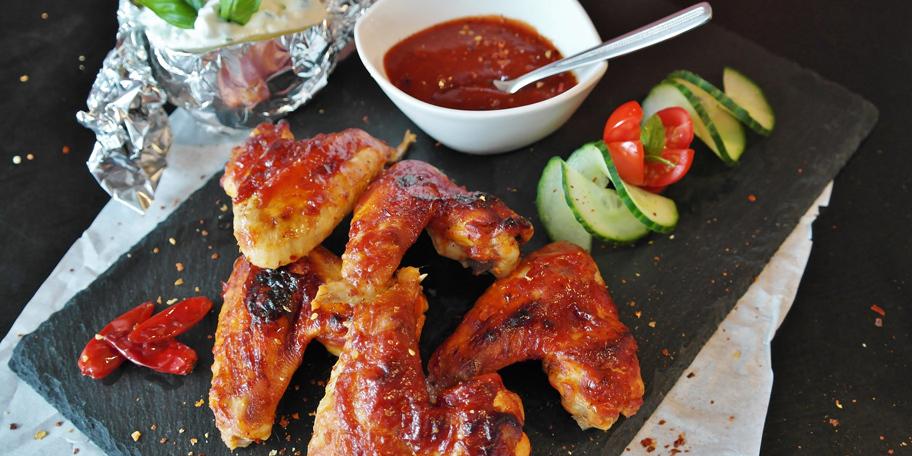 Gurmanska pileća krilca sa roštilja