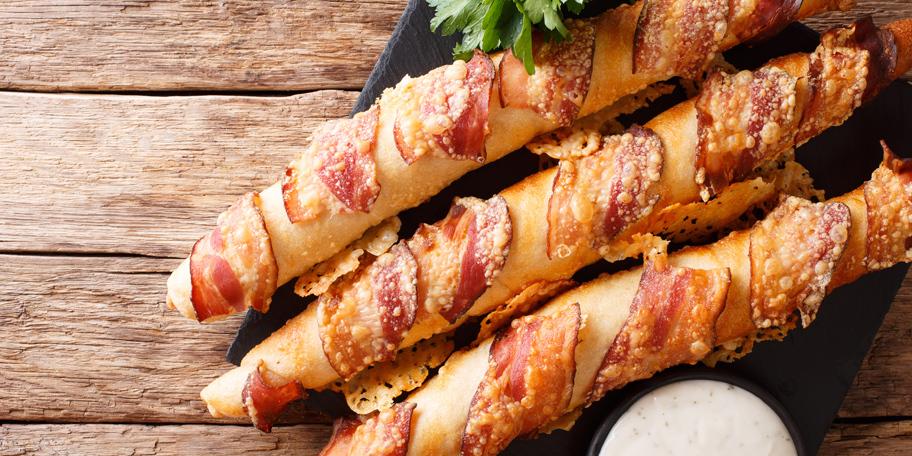 Nemački štapići sa slaninom i sirom