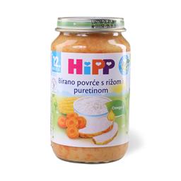 Kasica Hipp povrce,curetina 220g