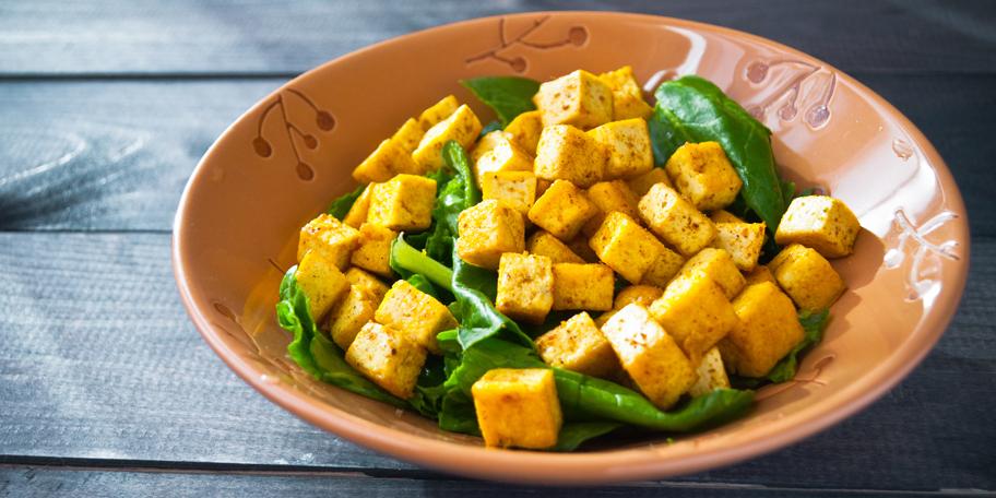 Tofu u kari sosu