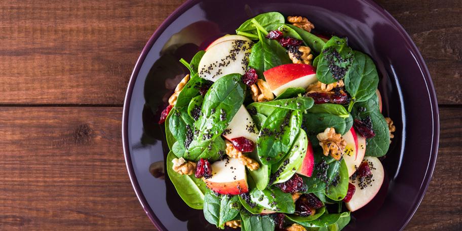 Salata sa makom i orasima