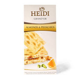 Cokol.badem&pistaci Heidi Grand'Or 100g
