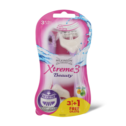 Brijaci Wilkinson Xtreme3 Beauty 3+1