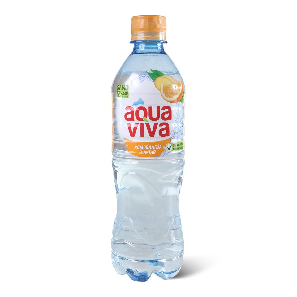 Aqua Viva Pomorandza Djumbir 0 5l P Mineralna Negazirana Voda