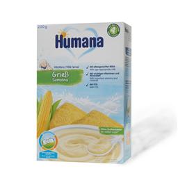 Kasa Humana+4 mlecna sa grizom 200g