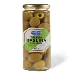 Zelena maslina bk Ukus Mediterana 500g