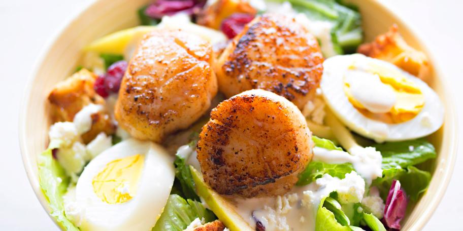Salata sa Jakobovim kapicama