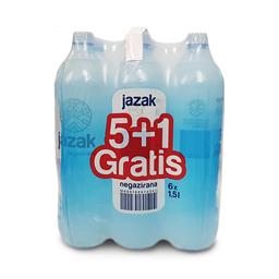 Voda Jazak 1,5l pakovanje 5+1 gratis