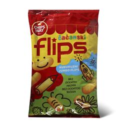 Flips Cacanski corn 80g