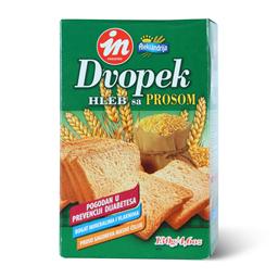 Dvopek hleb sa prosom 130g