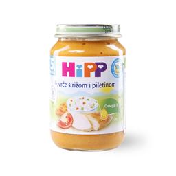 Kasica Hipp piletina,pirinac,povce 190g