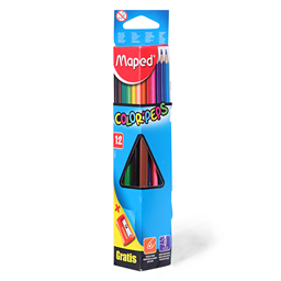 Bojice Maped Color Peps 1/12+rezac