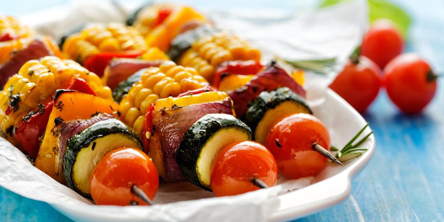 Vegeterijanski ražnjići