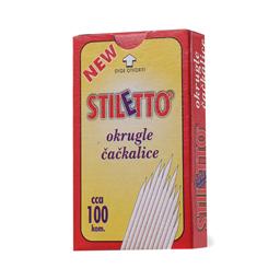 Cackalice okrugle Stiletto 100/1